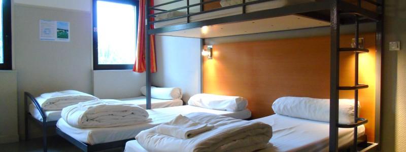 chambre à 4 ou 5 lits au cis de reims