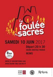 course à Reims la foulée des sacres