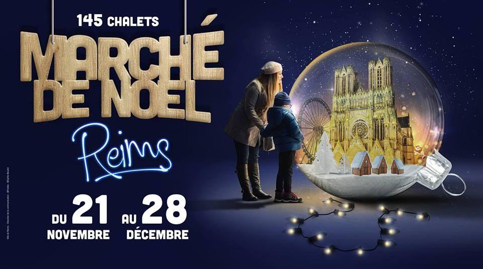 Le Marché de Noël à Reims