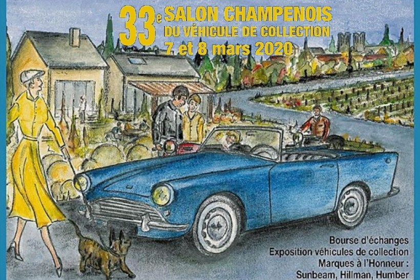 33ème salon Champenois du véhicule de collection à Reims