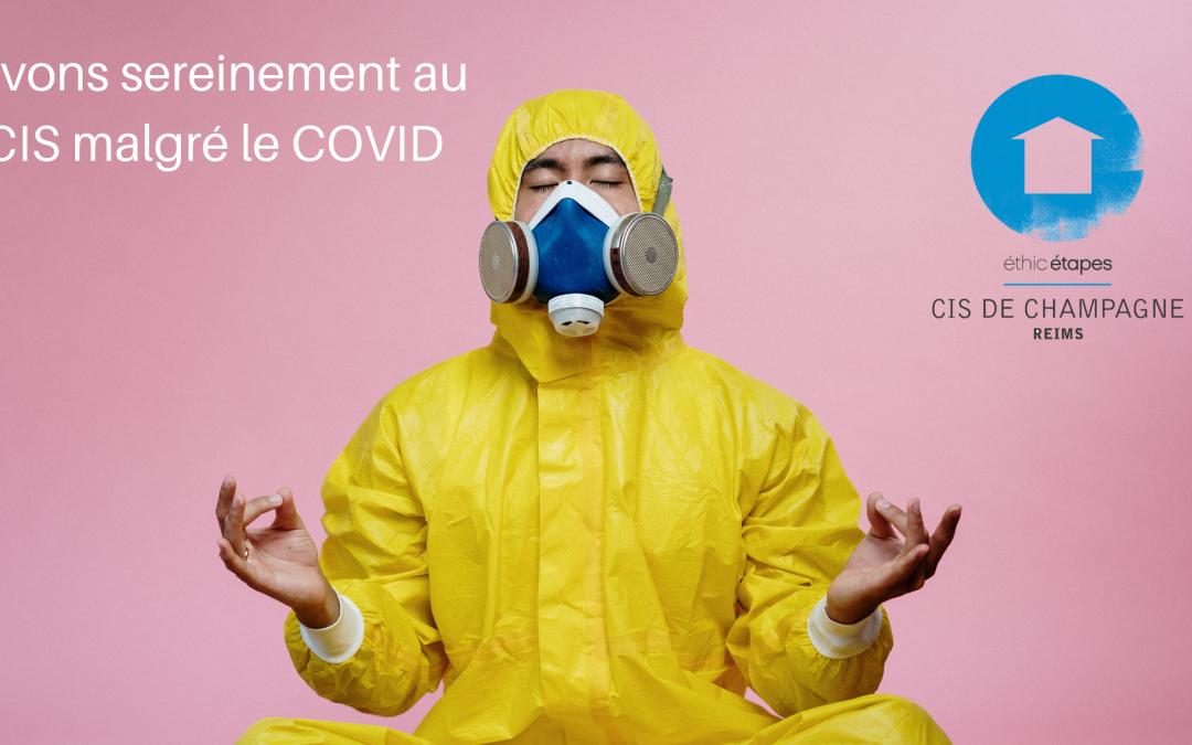 Le CIS de Reims s'adapte pour le COVID